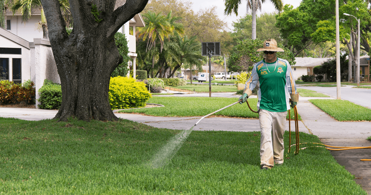 APL Lawn Spraying is Local