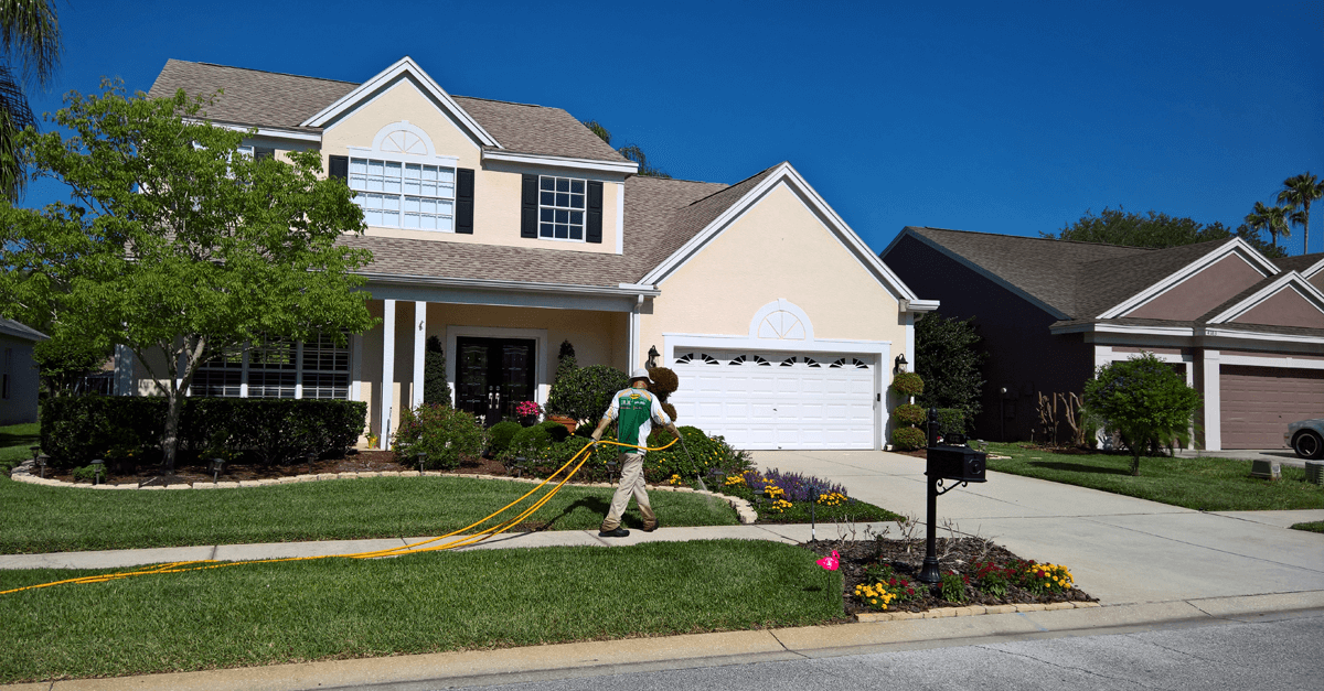 Lawn Spraying is not Polluting
