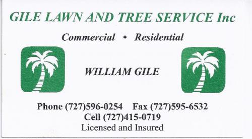 Gile Lawn and Tree Service