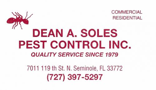 Dean A. Soles Pest Control Inc.