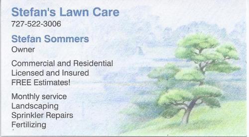 Stefan's Lawn Care